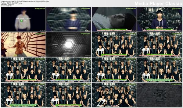[ENG] 140604 LINE x EXO Sticker Collection Lay Day [blingdinosaur].avi_thumbs_[2014.06.04_23.17.40]