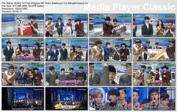[ENG] 141102 Inkigayo MC Suho Baekhyun Cut [blingdinosaur].avi_thumbs_[2014.11.02_17.16.10]