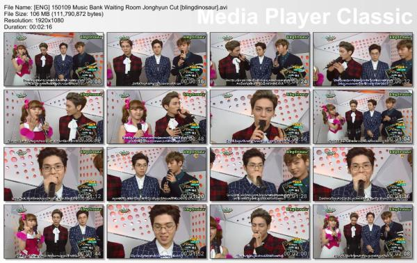 [ENG] 150109 Music Bank Waiting Room Jonghyun Cut [blingdinosaur].avi_thumbs_[2015.01.09_21.01.37]