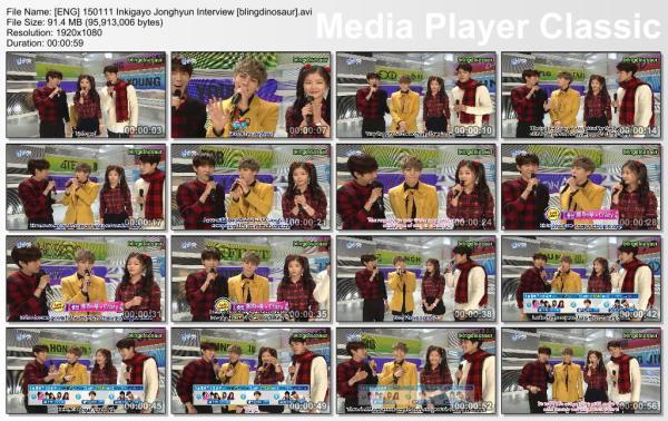 [ENG] 150111 Inkigayo Jonghyun Interview [blingdinosaur].avi_thumbs_[2015.01.11_13.59.36]